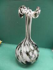 wunderschöne 40 cm hohe alte Glasvase in tadellosem Zustand