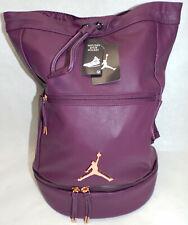 New Womens Nike Jordan Skyline City Bordeaux 9A0023 P3D Backpack MSRP$85 Wet Dry