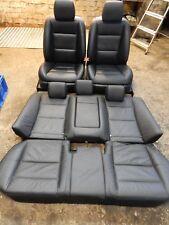 MERCEDES S CLASS W221 2011 BLACK LEATHER INTERIOR SEATS 25#