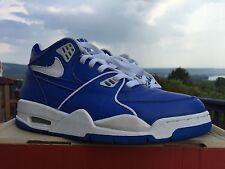 Nike Flight 89 Sz 9 Royal Blue/White 2000 Jordan Iv