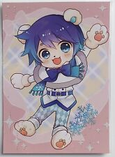 Kaito postcard Snow miku sky town Hokkaido Japan vocaloid snow kaito #3