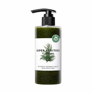 [WONDER BATH] Super Vegitoks Cleanser Green - 300ml / Free Gift