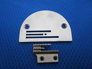 Needle Plate 12482 & Feed Dog Feeder 12481 for Industrial Sewing Machines Consew