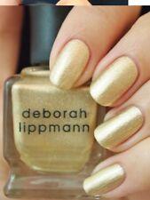 NEW! Deborah Lippmann NEFERTITI Polish Lacquer - full size metallic golden frost