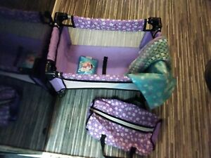 Baby dolls travel cot