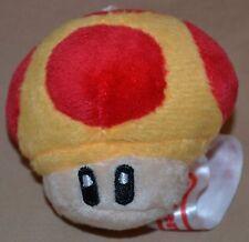 "2.5"" Growth Mushroom Power Up Grow Plush Dolls Toys Super Mario Brothers Bros"