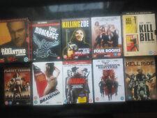 QUENTIN TARANTINO DVD BUNDLE-Pulp Fiction Kill Bill Django Deathproof Inglorious