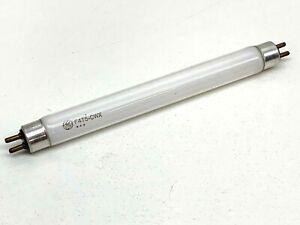 "Vintage GE F4T5/CWX High-CRI Fluorescent Light Bulb Lamp 4W 6"" Cool White"