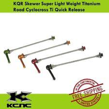 KCNC KQR Skewer Super Light Weight Titanium Road Cyclocross Ti Quick Release