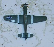 Vintage Bachmann Mini Planes US WWII P-51 Mustang  Fighter #11 (8011  8311
