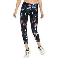 Calvin Klein Performance Women's Floral Yoga Leggings, Black, Size XS, $59, NwT