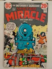 Dc Comics Mister Miracle #13 (1973) Bondage Cover Jack Kirby Story, Cover, & Art