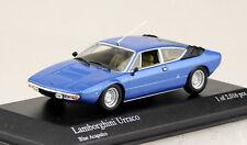 Lamborghini Urraco azul 1:43 Minichamps maqueta de coche