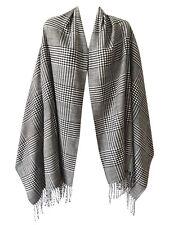 Women Men Blanket Oversized Tartan Cashmere Feel Long Scarf Shawl Pashmina COZY