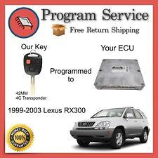 ✅ ECU 42mm KEY PROGRAM | Lexus RX300 1999 2000 2001 2002 2003 99 | 00 01 02 03
