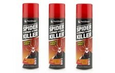 3x Spider Creepy Crawly Killer Spray No More Spiders 200ml