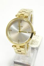 Fossil BQ7022 Suitor Three Hand Gold Tone Stainless Steel Bracelet Ladies Watch