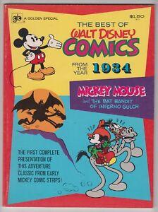 The Best of Walt Disney Comics From 1934, FLOYD GOTTFREDSON, FINE PLUS 1974  r