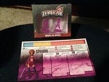 Zombicide Kickstarter Exclusive Adriana the Shopgirl season 2 NEW in SHRINK