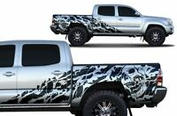 Vinyl Decal NIGHTMARE Wrap Fits: Toyota Tacoma 4D Short Bed Truck 05-15 BLACK