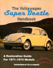 Beetle Manuale Restauro Volkswagen Super Guida Negozio Manuale 71 74 72