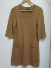H&M KENITTED CARDIGAN For WOMENS   Long SWEATER Size Eur S, Brown סוודר נשים