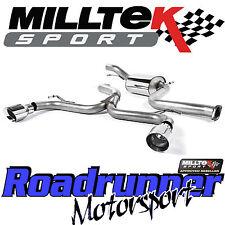 "Milltek Escape Focus ST225 Cat atrás 3"" carrera sistema polaca GT100 SSXFD135 más fuerte"