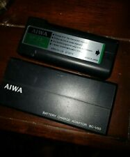 Aiwa Np-22 Battery Pack W/ Bc-V60 Battery Charge Adapter