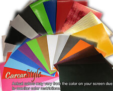 2D 3D 4D Carbon Fibre Vinyl Wrap Air Free Black White Silver Red Blue Gold Green