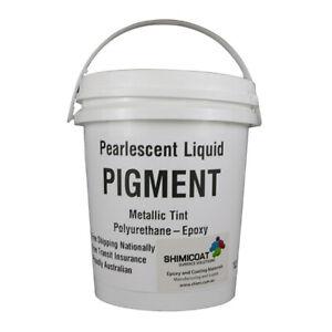 Metallic Pearlescent Liquid Pigment Epoxy Coating Art&Floors Concentrate QUALITY