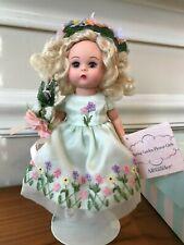 """New ListingMadame Alexander Doll 8""""Spring Garden Flower Girl 34390"""