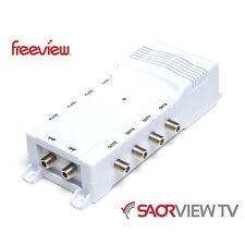 Antiference 8 Way TV Distribution Amplifier Saorview Freeview UPC NTL Virgin HD