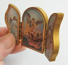 Saint Michael Angel Small Folding/standing/pocket/car Icon