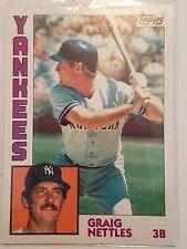 1984 Topps #175 Graig Nettles New York Yankees Baseball Card
