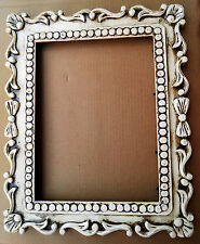 Vintage Design Wooden Hand Carved Picture Photo Frame / Mirror Frame Indian Art