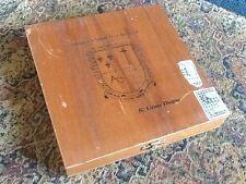 Vintage Wood Cigar Box Compania De Tabacos Las Antillas, S.A. Domincan Republic