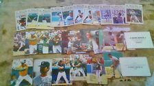 3 SETS 1989 BASEBALL BEST  W/5 CANSECO +1989 ACTION + NEWS W/3 BO 2 GRIFFEY