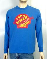 vtg 90s single stitch Shell Oil Roxana Wrestling T-Shirt 1997 Longsleeve sz L