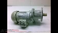 BAUER G063-20/DO44-141L MOTOR 3 PHASE, 265/460V, 1620 RPM, 60HZ