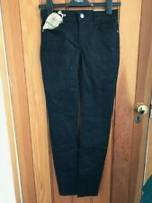 fat face black jacquard slim jeans uk 6 r bnwt