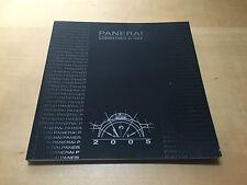 New - Book Book PANERAI - Laboratory di idee 2005 - Spanish Spanish - Catalogue