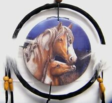 Dream Catcher Apache Horse & Foal Diameter 16cm Dreamcatcher Lisa Parker