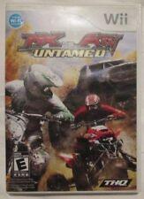 Nintendo Wii MX vs ATV Untamed (Manual, box and game)