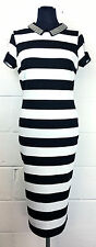 Marks and Spencer Cap Sleeve Striped Dresses for Women