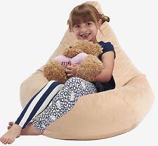 Kids highback beanbag Bean bag gaming chair Childrens beanbags Cream