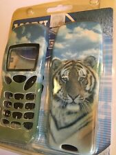Nokia 3210 Housing Covers Set in Tiger Face plus Keypad HNK32TIGFST. Brand New.