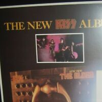 Kiss 1981 'Aucoins last stand' The Elder promo repro poster photo Ace Gene Eric