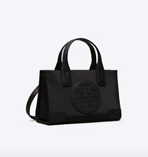 Authentic TORY BURCH MICRO ELLA TOTE BAG - BLACK