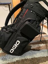 Ogio Convoy SE 14 Stand Bag Black-Excellent Condition