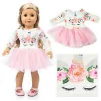"Hand Made Doll Clothes Dress Outfits Set For 18""inch Our Generation Girl Dolls"